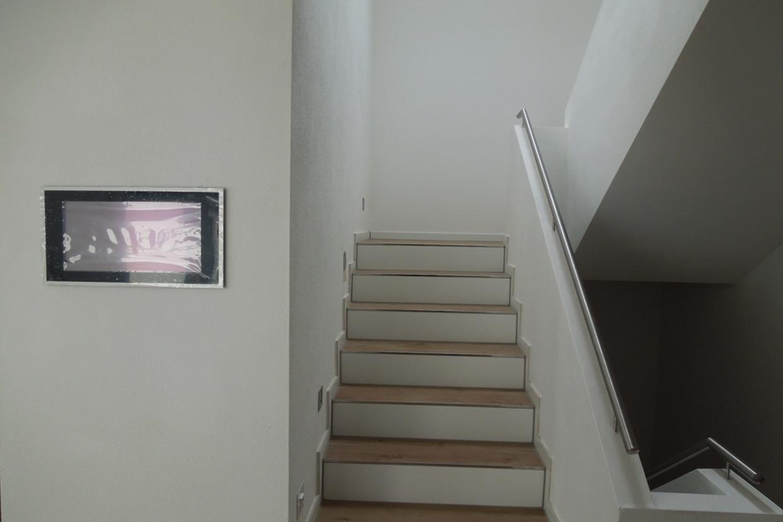 gemauerte treppengel nder das fertige treppenhaus baublog wir bauen unser massivhaus. Black Bedroom Furniture Sets. Home Design Ideas