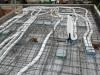 Verkabelung Decke Erdgeschoss