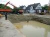 Baugrube ist vollgelaufen