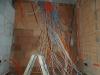 Elektroleitungen werden verlegt