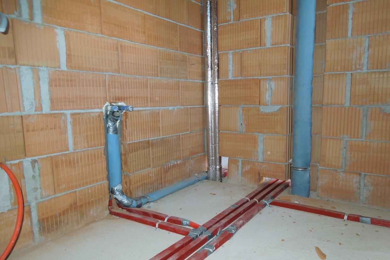 Die Leitungen Im Haus Wasserleitungen Baublog Wir Bauen Unser