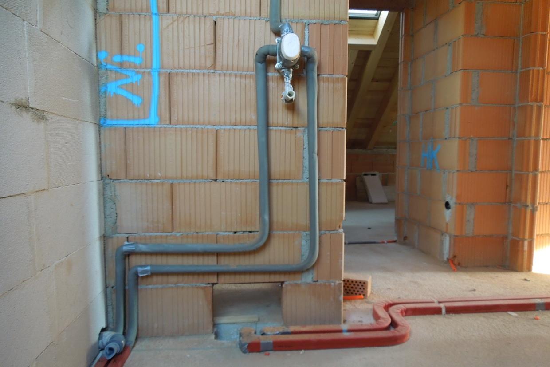 die leitungen im haus – wasserleitungen › baublog - wir bauen unser