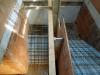 Das Treppenhaus entsteht